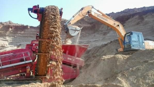 морской песок для строительства