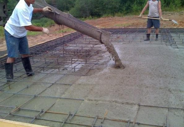 Скільки цементу на 1 м3 бетону М200