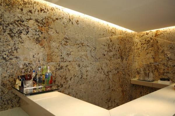 облицовка стен из искусственного мрамора