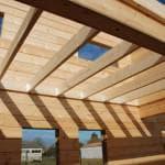 Устройство деревянных балок перекрытий и их размеры