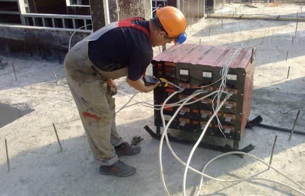 применение трансформаторов прогрева бетона