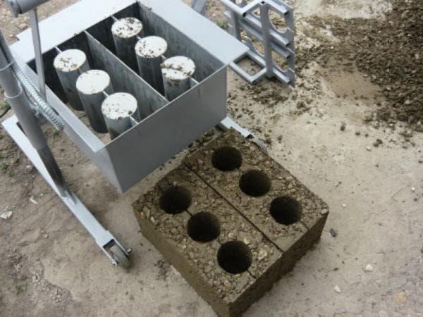 агрегат для шлакоблоков «МАРС»