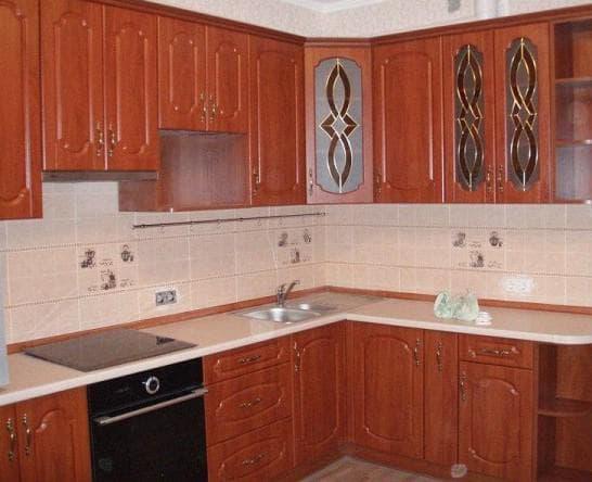 кухонные плёночные фасады мдф от Homanit