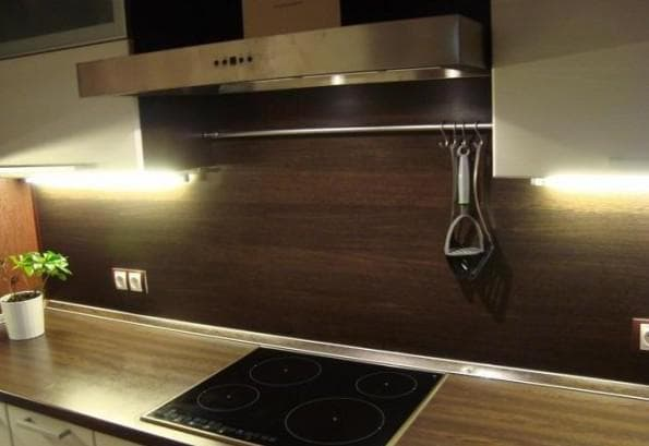 ламинированные кухонные фартуки из мдф