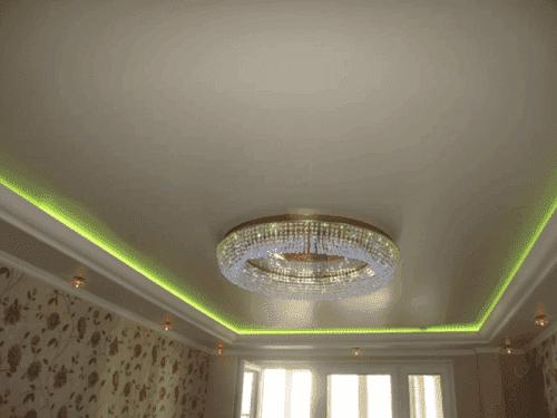сатиновый натяжной потолок Kanlux