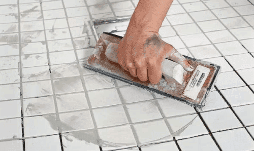 цементная затирка для плитки в ванной