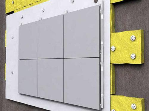 вентилируемые фасады алюминиевые панели
