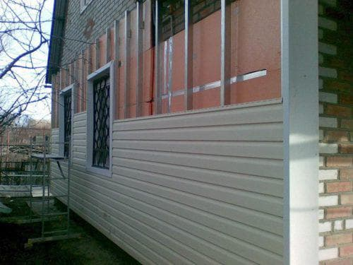 пенопласт для стен дома снаружи под сайдинг
