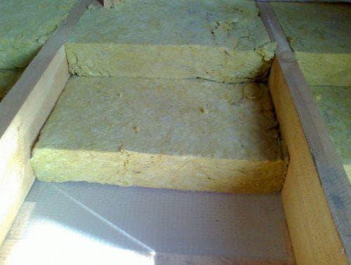 Минеральная вата для утепления деревянного дома