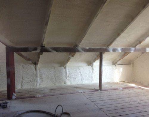 пенополиуретан для утепления чердака на крыше