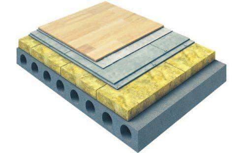 минеральная вата утеплитель для пола по бетону под стяжку