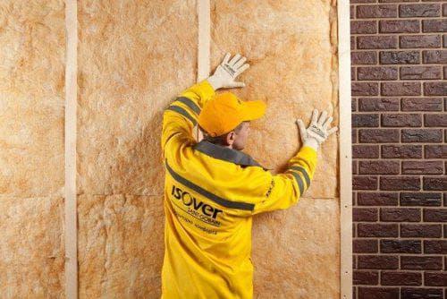 утеплитель Изовер для стен дома снаружи