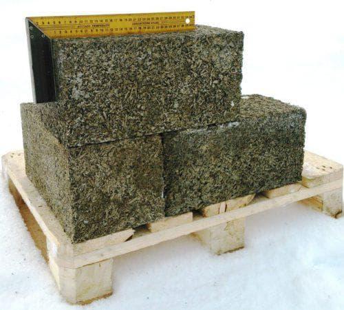 арболитовые блоки с алюминием