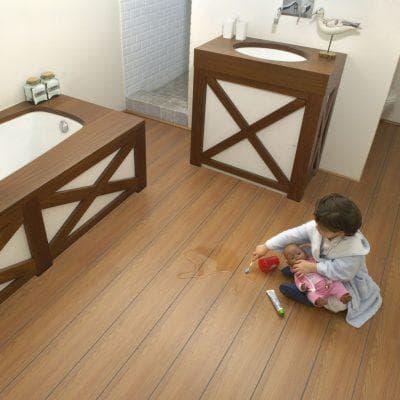 влагостойкий ламинат в ванную Aqua Step