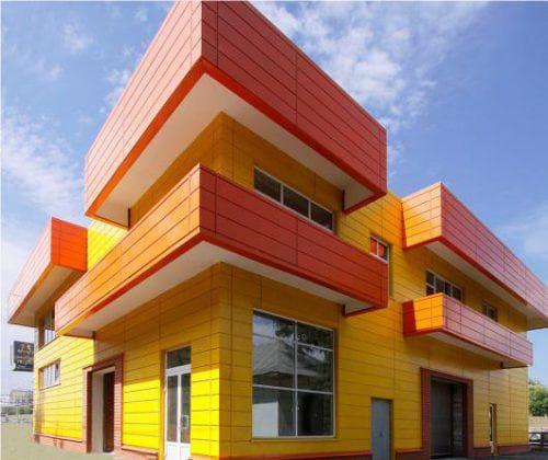 вентилируемые фасады Линеарные панели