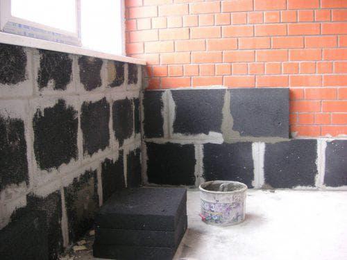 пеностекло для утепления бетонного пола