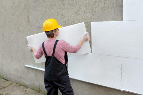 пенополистирол для утепления стен