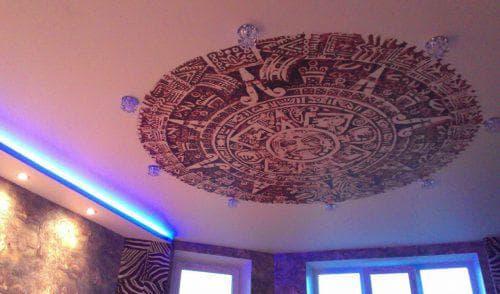 тканевые натяжные потолки Черутти