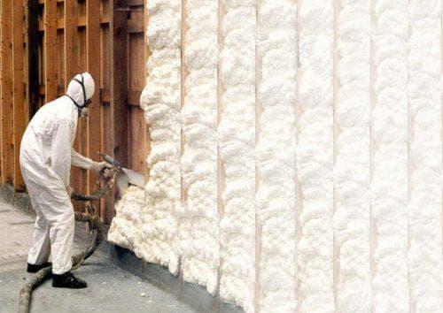 пенополиуретан для утепления стен