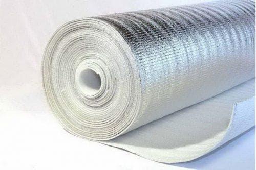 вспененный фольгированный полиэтилен для утепления стен