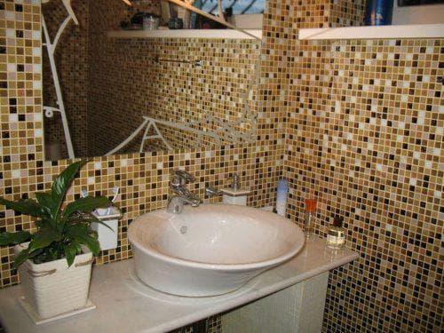 плитка-мозаика для ванной