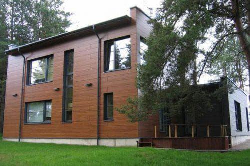 вентилируемые фасады Ламинат высокого давления