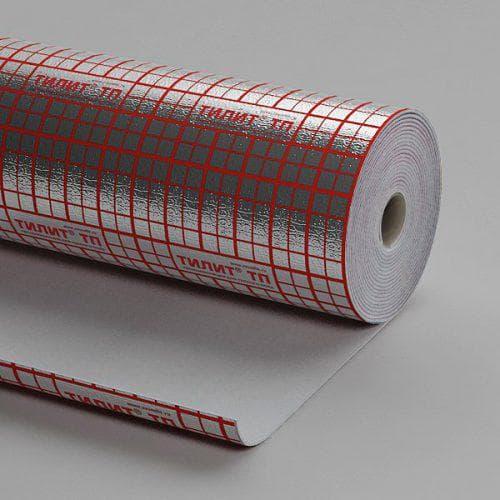 фольгированный материал для теплого водяного пола