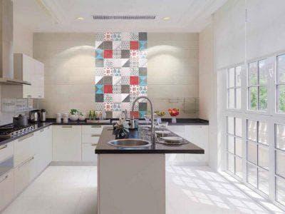 мультиформатная керамическая глазурованная плитка