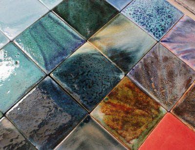 керамическая глазурованная плитка Майолика