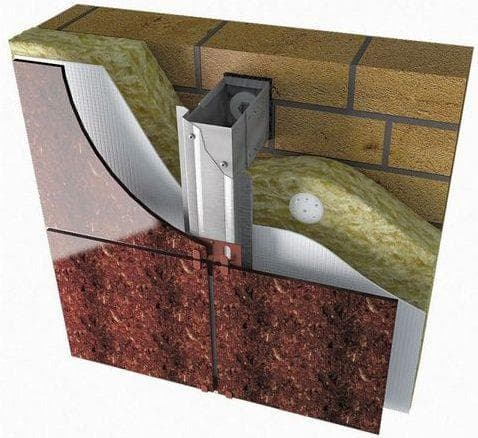 вентилируемые фасады Агломератная плитка