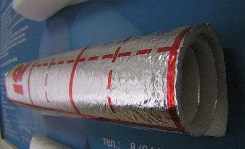 фольгированная подложка под теплый пол DH-Hilon