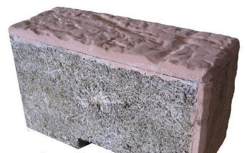 арболитовые блоки с отделкой