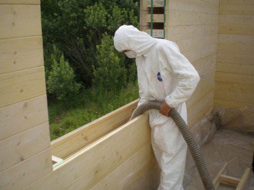 экологически чистая вата для каркасных стен