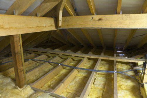 утеплитель снаружи на потолок в частном доме