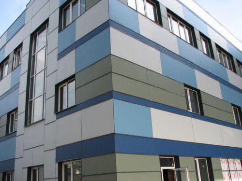 фиброцементные вентилируемые фасады