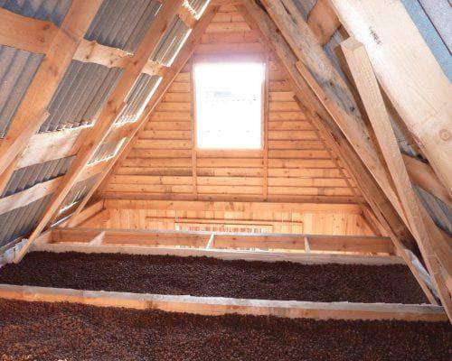 керамзит для утепления на потолок в частном доме