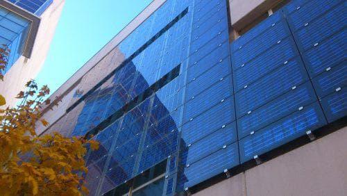 вентилируемые фасады Фотоэлектрические модули