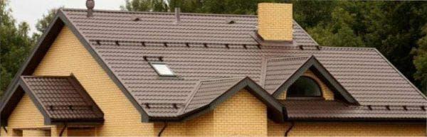 металлочерепицы для крыши от Grand Line
