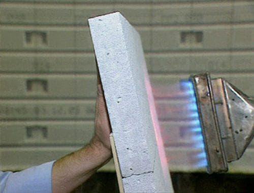 огнестойкость газосиликатных блоков