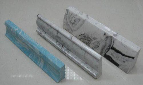 керамический плинтус для ванной Exagres