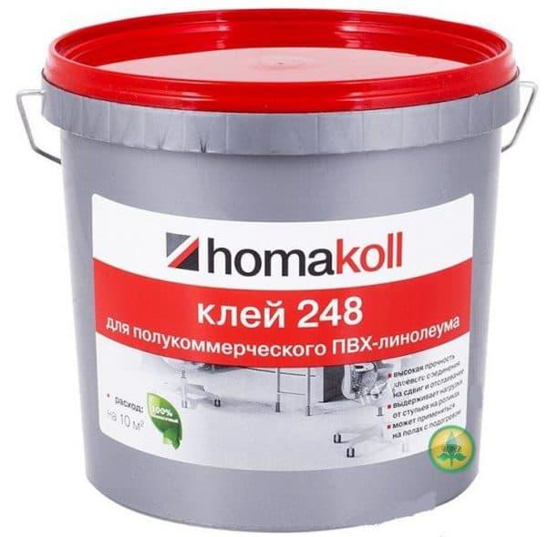 клей для линолеума Homakoll